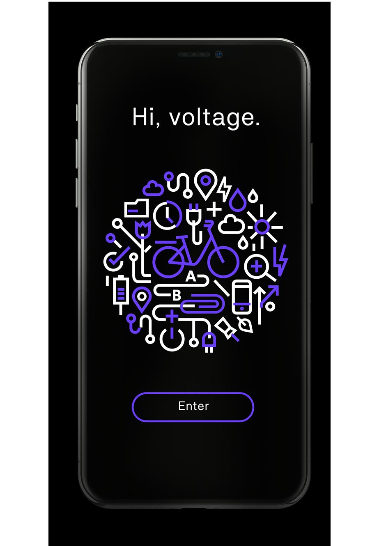 Hi, voltage.